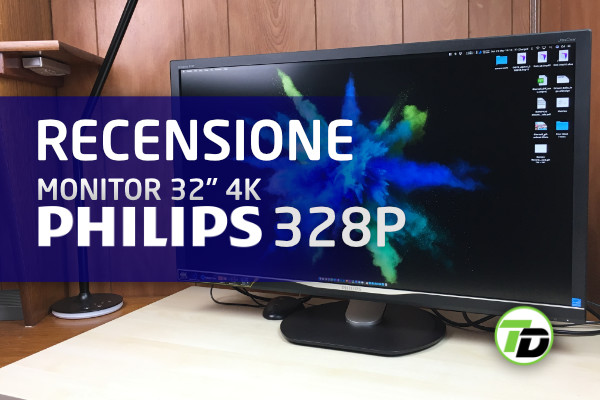 Philips 328P monitor 32 pollici