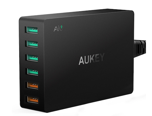 Caricabatterie USB Aukey